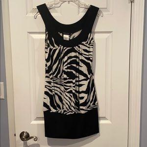 Fleurish Dresstunic - Zebra print